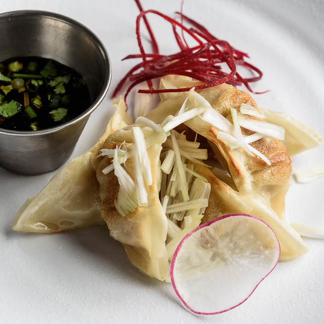 Pan Cooked Pot Stickers
