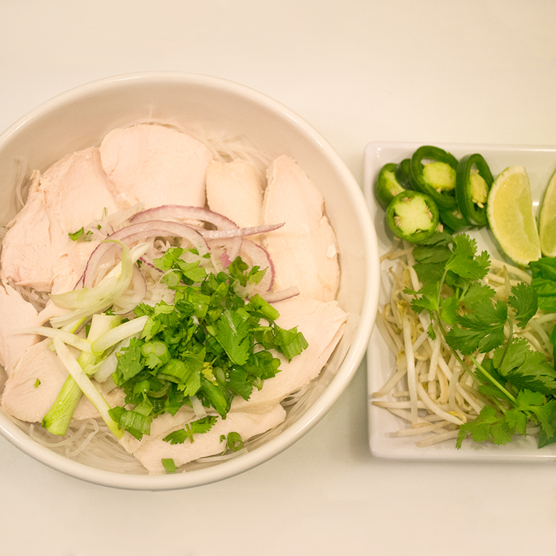 "Chicken ""Pho"" Noodles"
